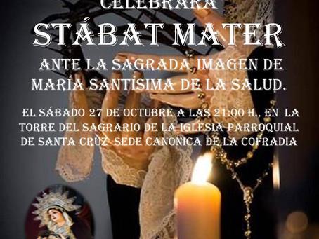 'Stábat Mater'2018 a la Virgen de la Salud La
