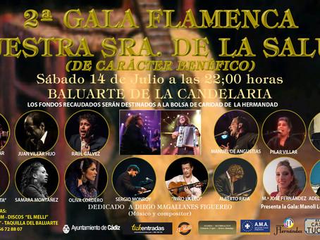 2ª GALA FLAMENCA NUESTRA SRA. DE LA SALUD / DE CARACTER BENEFICO /