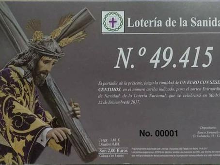 Ya tenemos a la venta la Lotería de la Sanidad para el sorteo extraordinario de Navidad del próximo