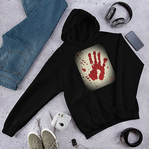51 The Series Handprint Unisex Hoodie