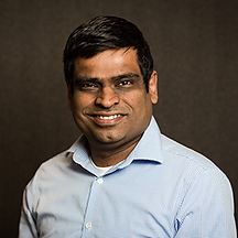 Photo of Arun Santhebenur - Co-founder and CEO of Voicegain