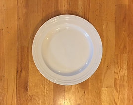 Kelli's Party Rental china plates for rent on a budget, low price