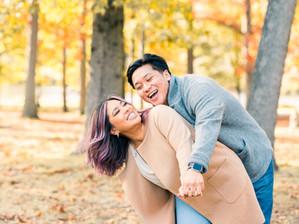 Verona Park, NJ Couples Session | Mariven & RJ