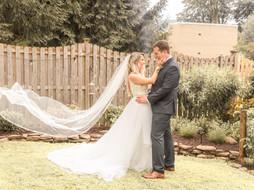 Hackettstown, NJ Intimate Backyard Wedding Ceremony   Alyx & Tom