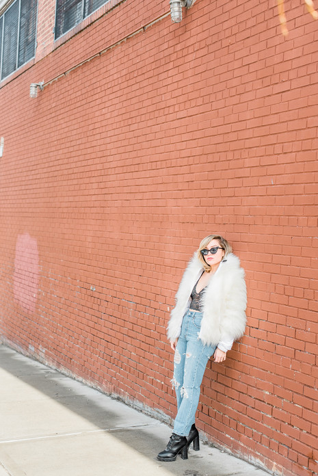 Street fashion in Queens, NYC