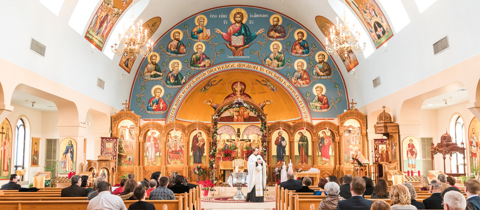 Family Baptism | Kimisis Tis Theotokou Greek Orthodox Church, Holmdel, NJ