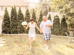 Waldwick, NJ Intimate Wedding Ceremony   Nicole & Albert