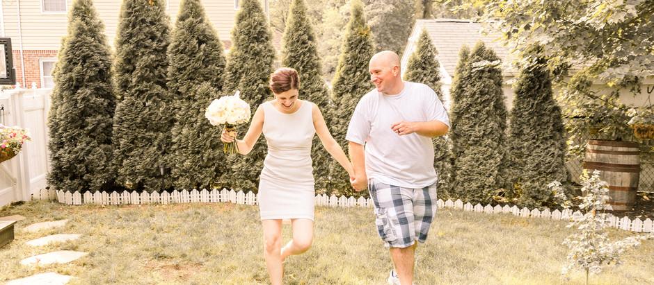Waldwick, NJ Intimate Wedding Ceremony | Nicole & Albert
