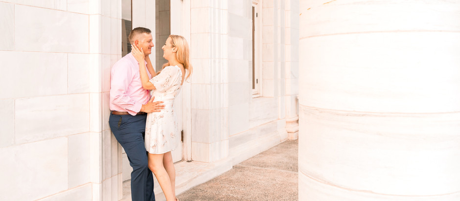 Somerville, NJ Engagement Session | Beth & Kurt