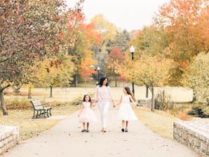 Verona Park, NJ Family Portrait Session | Ana, Scarlet, & Angelique