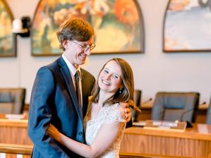 Cranford, NJ Courthouse Wedding Ceremony - Courtney & Jason