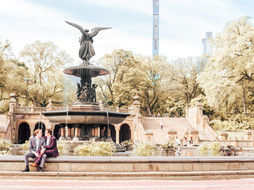 Central Park, NYC Engagement Session | Austin & Aaron
