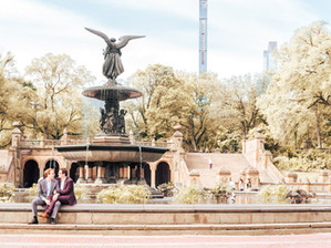 Central Park, NYC Engagement Session   Austin & Aaron