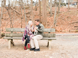 Speedwell Lake Park in Morristown, NJ Couples Furbaby Session   Alyx & Tom + Cubby