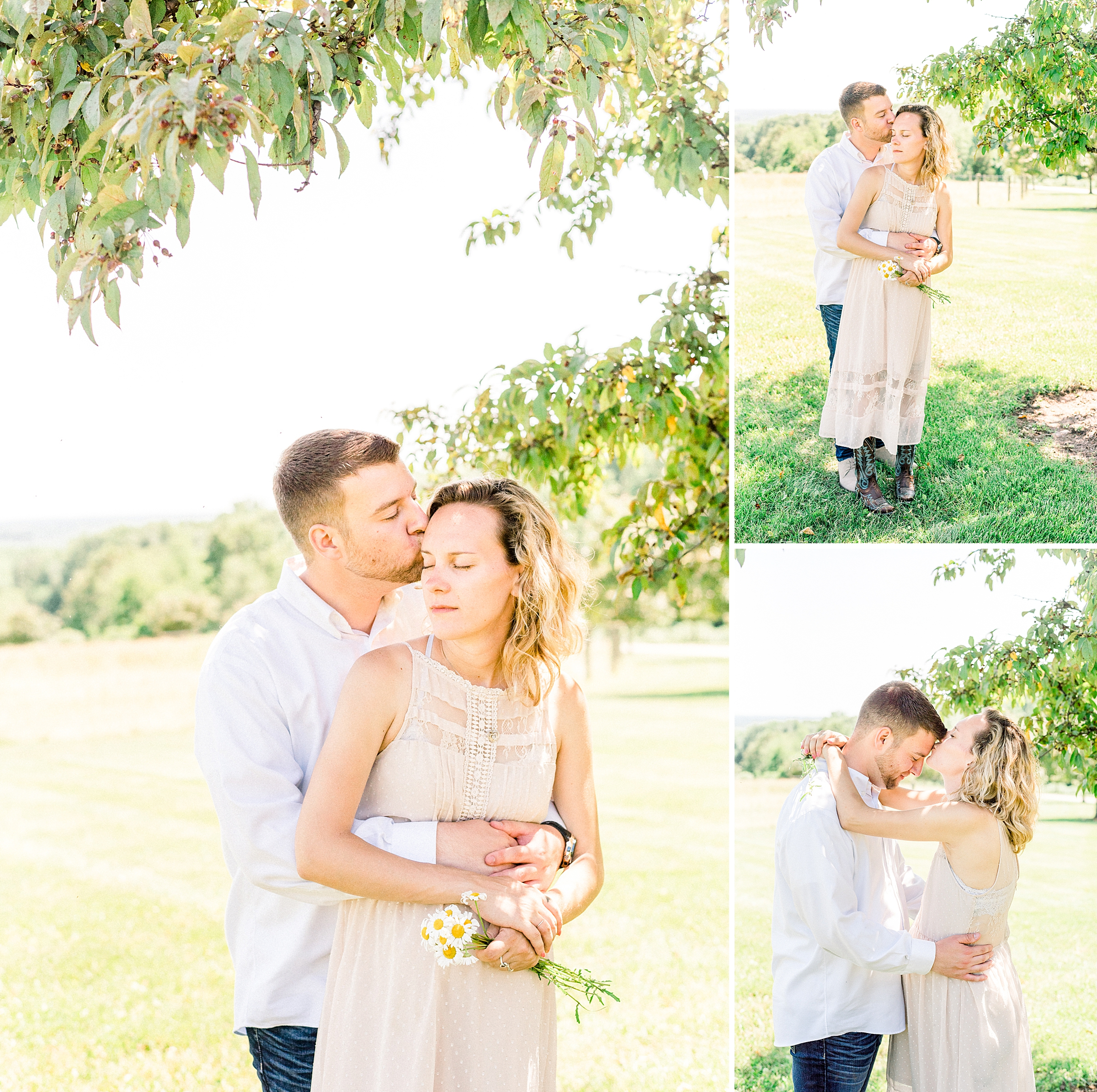 Beautiful farm maternity session in New Jersey
