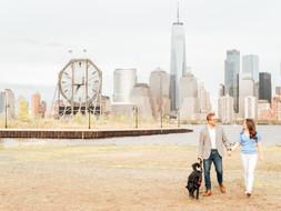Jersey City, NJ Engagement Session | Lindsey & Brian + Parker