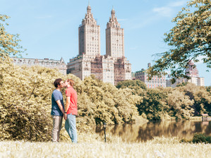 Central Park, NYC Engagement Session Video   Austin & Aaron