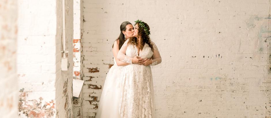 The Art Factory Wedding, Paterson, NJ | Christy & Kelly