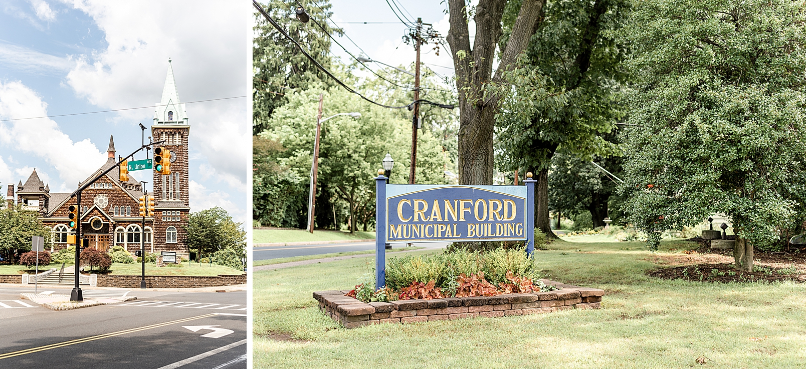 Cranford New Jersey town sign