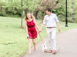 Verona Park in Verona, NJ with Megan, Rosie, and Landon