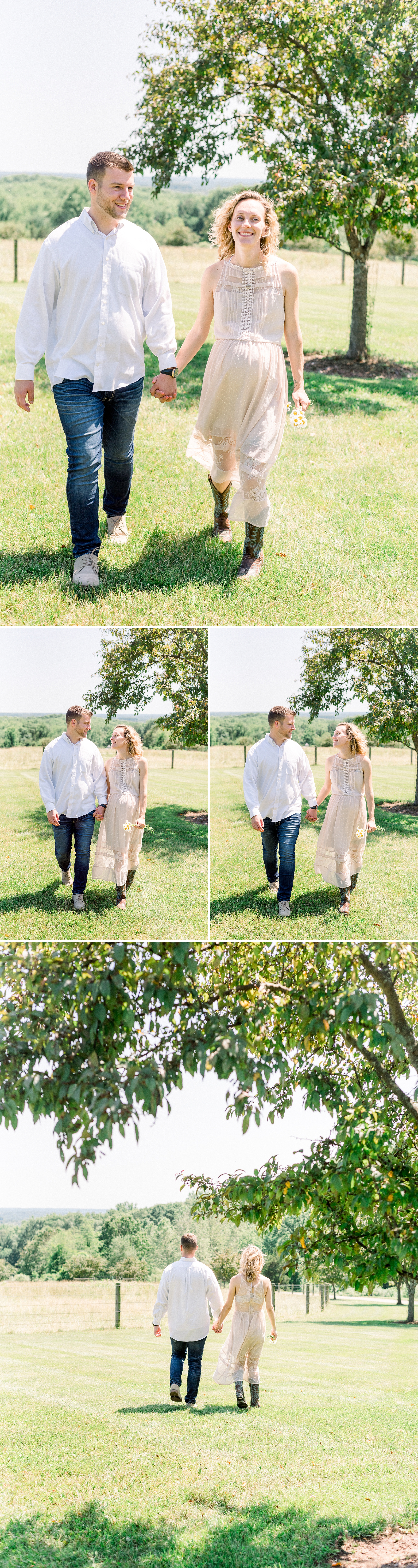 Beautiful rustic maternity session in New Jersey