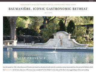 """""""If you're looking for an authentic, gastronomic luxury retreat in Provence… look no further&qu"""