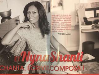 Nyna Shanti, une chanteuse qui nous envoûte !