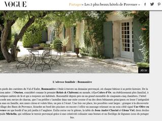 L'adresse familliale: Baumanière sur Vogue.fr