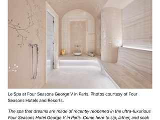 Ultra-chic Le Spa du Four Seasons hôtel George V