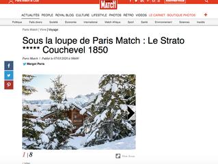 Le Strato sous la loupe de Paris Match !
