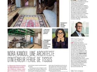 Nora Kanoui, une architecte d'intérieur férue de tissus !