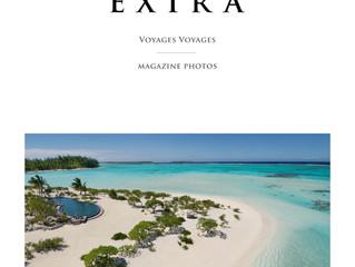 Les Hôtels Le Strato & Le Guanahani dans le Travel Extra magazine