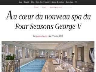 Au coeur du nouveau Spa du Four Seasons George V