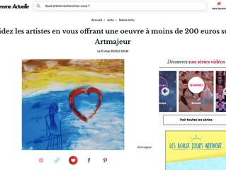 Soutenez les artistes sur le site Artmajeur.com