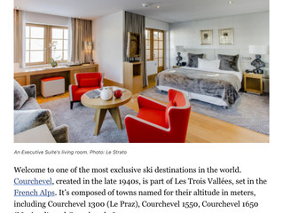 Ski the French Alps: Stay at Le Strato in Courchevel