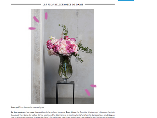 Les plus belles roses de Paris