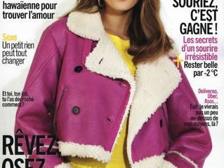 La crème de nuit Une Olive en Provence dans le magazine Cosmopolitan