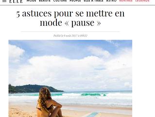 """5 astuces pour se mettre en mode """"pause"""""""