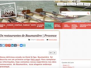 Les restaurants de Baumanière aux Baux de Provence
