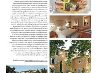 Baumanière, un havre de paix provençal