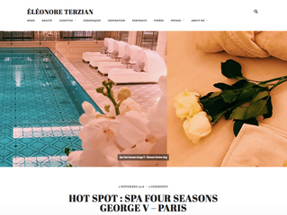 Hot Spot : Spa Four Seasons George V - Paris
