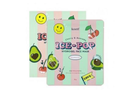 Koelf Cherry & Avocado Ice-Pop Hydrogel Face Mask Гидрогелевая маска для лица