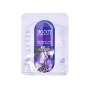 Jigott Real Ampoule Mask Collagen Ампульная маска для лица с коллагеном