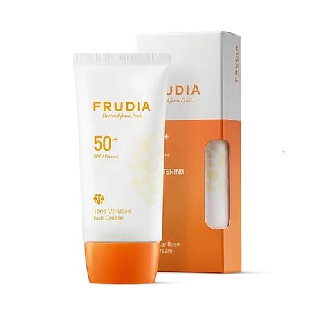 Frudia Tone Up Base Sun Cream Spf50+ Pa+++ Солнцезащитная тональная крем-основа
