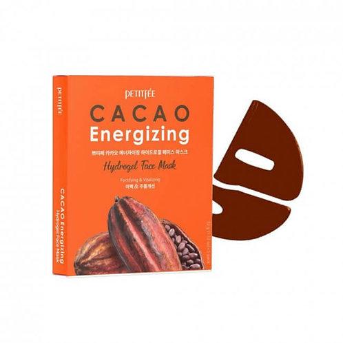 Petitfee Тонизирующая гидрогелевая маска для лица с какао
