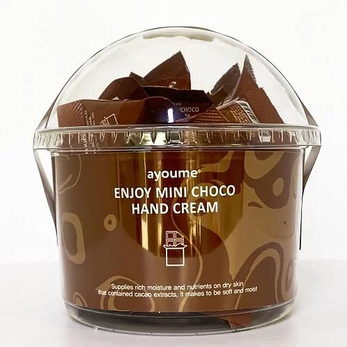 AYOUME  Крем для рук шоколадный