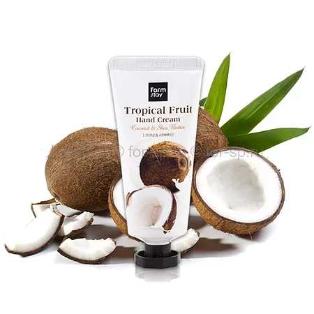 FarmStay Tropical Fruit Coconut Hand Cream