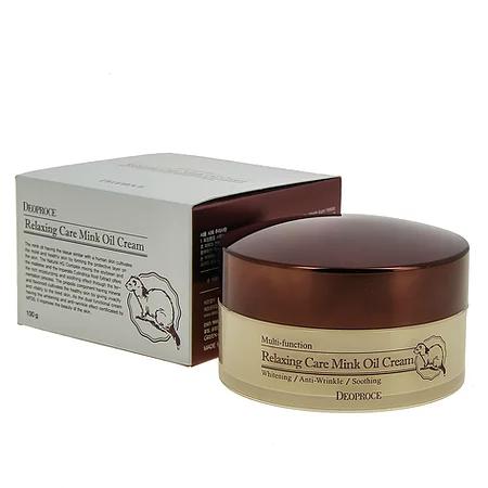 Relaxing Care Mink Oil Cream Крем расслабляющий с жиром норки