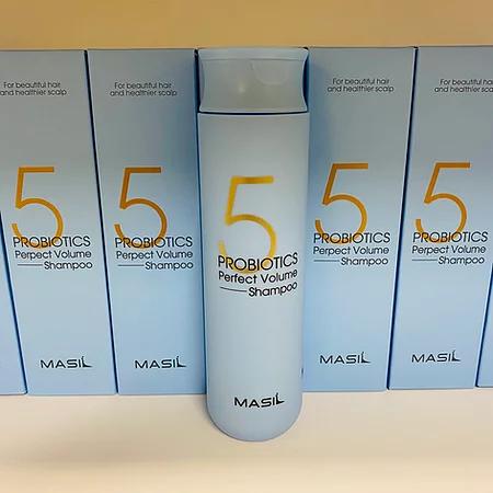 Masil 5 Probiotics Perpect Volume Shampoo Шампунь для объема волос с пробиотикам