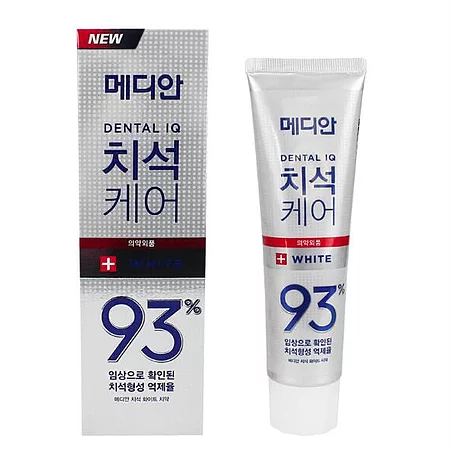 Median Dental IQ 93% White Отбеливающая зубная паста с цеолитом